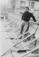 CONSTRUCTION DU CNIT LA DEFENSE 1957 PHOTO ORIGINALE 15 X 10 CM - Lieux