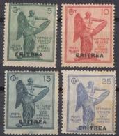 ERITREA, COLONIA ITALIANA - 1922 - Serie Completa Di 4 Valori Nuovi MH: Yvert 50/53. - Erythrée