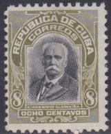 Cuba, Scott #251, Mint No Gum, Calixto Garcia, Issued 1911 - Kuba