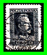POLONIA  SELLO AÑO 1928 MARSHAL  JOSEF PILSUDSKI - 1919-1939 Republic