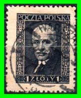 POLONIA  SELLO AÑO 1928 AND PRESIDENT IGNACY MOS CICKI - 1919-1939 Republic