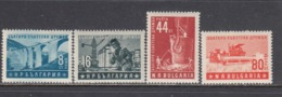 Bulgaria 1953 - Soviet-Bulgarian Friendship , YT 765/68, Neufs** - 1945-59 República Popular