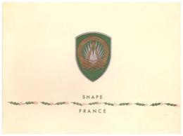 Carte De Voeux- SHAPE  FRANCE - 1955 - Documents