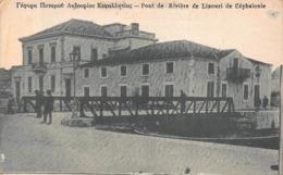 CPA Pont De Rivière De Lixouri De Céphanolie - Grèce