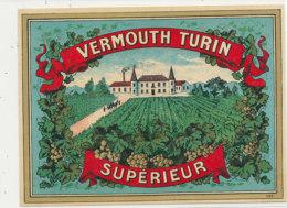 AN 691 / ETIQUETTE  VERMOUTH TURIN SUPERIEUR    N° 353 - Labels