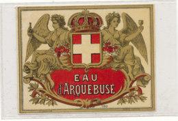 AN 694 / ETIQUETTE    EAU D'ARQUEBUSE N° 160 - Labels