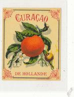 AN 696 / ETIQUETTE    CURACAO  DE HOLLANDE - Labels