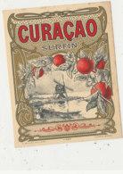 AN 697 / ETIQUETTE    CURACAO   SURFIN N° 465 - Etiquettes