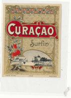 AN 698 / ETIQUETTE    CURACAO   SURFIN N° 453 - Labels