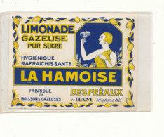AN 704 / ETIQUETTE     LIMONADE GAZEUSE  LA HAMOISE  DESPREAUX  A HAM - Labels