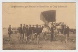 Beverloo Leopoldsburg  (Belgique)  Aéroplane Monté Par Général Ruet  AVION AVIATION  MILITAIRE - Aviatori