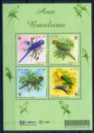 Brazil 2001 Brasil / Birds WWF MNH Vögel Aves Oiseaux / C6917   1-5 - Pájaros
