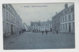 Dixmude  Diksmuide   Place De Breyne Peellaert  Edit H Bertels N° 7 - Diksmuide