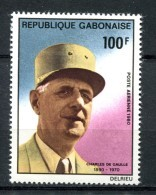 Thème Général De Gaulle - GABON Yvert 240 Neuf Xxx - De Gaulle (Generaal)