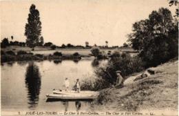 37 .. JOUE LES TOURS .. LE CHER A PORT CORDOU ..  ( OU PORT CORDON ) - Frankreich
