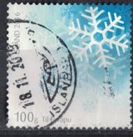 Islande 2016 Oblitéré Used Les Saisons Winter Hiver Flocons De Neige SU - 1944-... Republiek