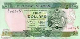 SOLOMON ISLANDS 2 DOLLARS 1997 PICK 18 UNC - Solomon Islands