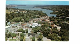 PICTON, Ontario, Canada, Bird's Eye View Of Town, Old Chrome Postcard, Prince Edward County - Sonstige