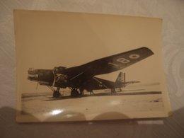 Photo Ancienne Originale Avion Aviation à Identifier - Aviation
