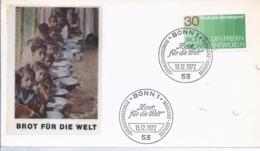 AK-div.32- 61521 - Bonn Ersttag - Brot Für Die Welt - 1972 - FDC: Brieven