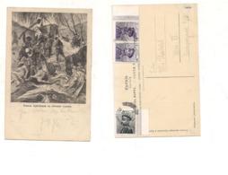 FB191 POSTCARD SERBIA MONTENEGRO 1913 STAMP Militar Beograd Mark - Serbia
