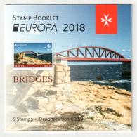 Malta / Malte 2018 MH/booklet EUROPA ** - 2018