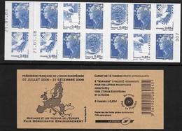 Carnet Europe 20g Beaujard Yt 1517 Daté 21.05.08 Avec N° D'ordre - Markenheftchen