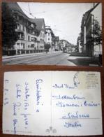 Schlieren Tram SVIZZERA Cartolina 1953 Small Format - ZH Zurich
