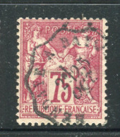 Superbe N° 71 Cachet Convoyeur Ligne Hendaye à Bayonne - 1876-1878 Sage (Type I)