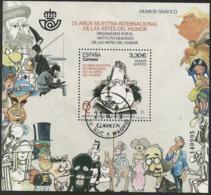 2018-ED. 5227 H.B. 25 Años Muestra Internacional De Las Artes Del Humor. Humor Gráfico -USADO - 1931-Hoy: 2ª República - ... Juan Carlos I