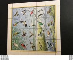 GAMBIE 1990 Birds Of GAMBIA  Feuillet De 20 V MI 1011 A 1030 MNH état Luxe - Birds
