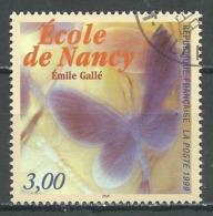 France YT N°3246 Ecole De Nancy Oblitéré ° - Gebraucht