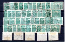 Hradcany : Le 5 H Vert Bleu : Y 4 Mi 24 : 50 Pieces - Oblitérés