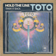 """7"""" Single, Toto - Hold The Line - Disco, Pop"""