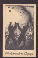 CPA Espagne Guerre War Civile 1936 Non Circulé Voir Scan Du Dos - Espagne