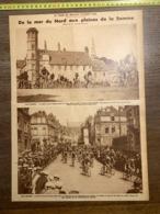 1932 1933 M CYCLISME ARQUES VIEUX CHATEAU SAINT OMER AMIENS BRUAY EN ARTOIS - Vieux Papiers