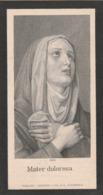 Josepha Maria Sophia Pels-wijk Bij Duurstede 1839-paramaribo 1911 - Devotieprenten
