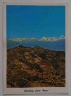 NEPAL - View Of Himalayas From Nagarkot - Himalaya Nv - Nepal