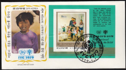 Korea DPRK 1979 / International Year Of The Child, IYC, United Nations / FDC - Childhood & Youth