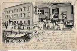 Mali Losinj 1906. Circulated - Croatia - Hotel De La Ville - Kroatië