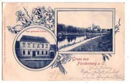 Furstenberg A. O. 1900 Zum Golden Lowen, - Fürstenberg