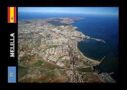 Melilla City Aerial View North Africa New Postcard - Melilla