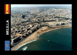 Melilla City Aerial View New Postcard - Melilla