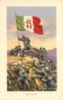 Alpini Sulla Cima Conquistata - Guerra 1914-18