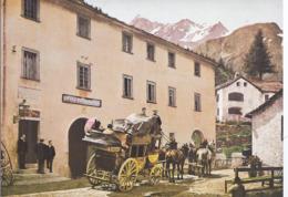 AK-div.32- 61588 - Schweiz - Simplon Dorf - Poststation - VS Valais