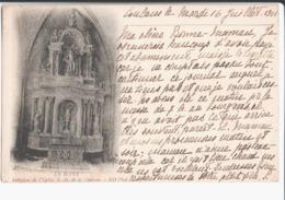 Le Mans. Intérieur Eglise N D De La Couture. De Simone à Coulans à Mme La Baronne De Reviers ( Isabelle ) à Versailles. - Le Mans