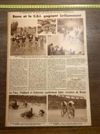 1932 1933 M CYCLISME BONO BRUAY ROME CHAMPIONS OLYMPIQUES JULES LADOUMEGUE FRANCOISE ROSAY - Collezioni