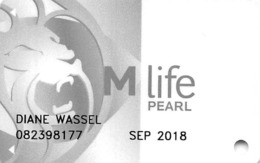 MGM Casinos USA - M Life Pearl Slot Card With LVC5-00254893AR - Casino Cards