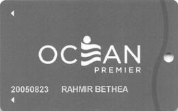 Ocean Resort Casino - Atlantic City NJ - Slot Card With P824684 - Casino Cards