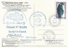 TAAF - Dumont D'Urville-T.Adélie: Carte Postale Illustrée PE Victor Avec Timbre N°445 Manchot Empereur - 14/11/2006 - Franse Zuidelijke En Antarctische Gebieden (TAAF)